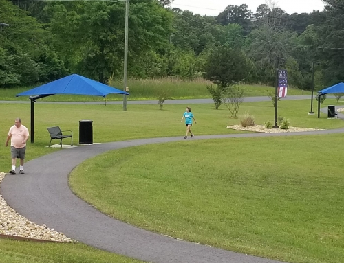 Walking and Fitness Track at Union General